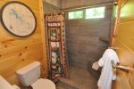 En Suite Bath With Walk in Tiled Shower