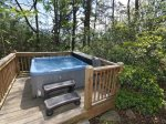 Soak in the Hot Tub After Hiking at Nearby Deep Creek