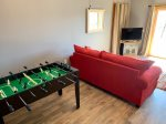 Fooseball Table in the  Bonus Room