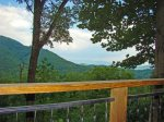 At 2300` View of the  Great Smoky Mountains National Park