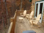 Open Air Deck with Seating