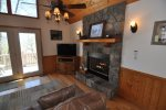 Enjoy the Gas Fireplace in the Living Room