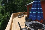 Large Deck To Enjoy The Mountain Air