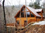 White Tail Hollow is Minutes from the Great Smoky Mountains Railroad and Rafting