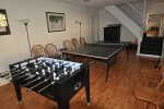 Enjoy Ping Pong and Foosball