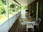 Enjoy Crisp Mountain Air On The Porch