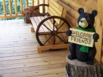 Enjoy Fresh Mountain Air and Sunshine on the Deck