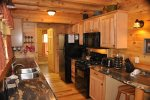 Well Equipped Full Kitchen with Gas Stove