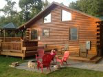 Great Log Cabin In The Smokys