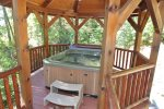 Enjoy the Hot Tub in all Weather