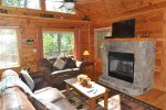 Bear Moon Lodge offers Wooded Privacy