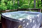 The Private Hot Tub Secluded by Trees
