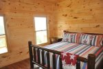 Fourth Bedroom Has Two Twin over Full Bunk Beds and a Private Bath