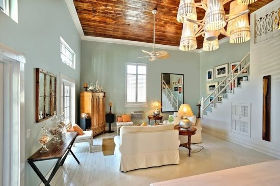Key West Style Home Decor: Chic Key West Home With Great