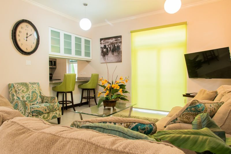 Jamaica Vacation Rentals Chic Mod City Studio. ✕