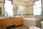 Kingston Jamaica Executive Vacation Rental - Master Bathroom