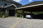Kingston Jamaica Executive Vacation Rental - Front door and Garage