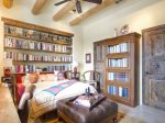 Guest Bedroom - Library