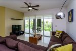Luxury condos Playa del Carmen - Mareazul Arena - Living room to terrace