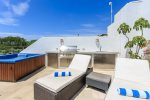 Private Rooftop with Lounge Chairs