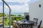 Penthouse Mareazul - Living room with ocean views - Playa del Carmen vacation rentals