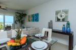 Penthouse Mareazul - dining table for 6 people - Playa del Carmen vacation rentals