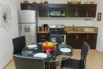 Penthouse Zama - dining area and kitchen - Tulum vacation rentals