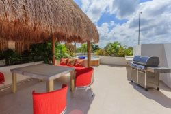 This penthouse has the perfect location for vacation rentals in Tulum