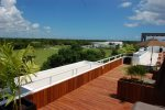 Nick Price Birdie - rooftop common area - vacation rentals Playa del Carmen