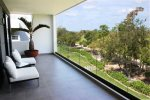 Nick Price Birdie - private terrace overlooking the golf course - vacation rentals Playa del Carmen