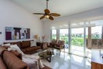 Mareazul Estrella de Mar - Living area to terrace - Vacation rentals Playa del Carmen