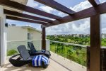 Mareazul Estrella de Mar - Terrace overlooking common areas - Vacation rentals Playa del Carmen