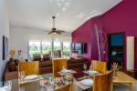 Mareazul Estrella de Mar - Terrace with exterior dining table  - Vacation rentals Playa del Carmen