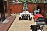Back Patio with BBQ and Dining