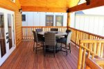 Huge Covered Front Deck