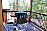 Back Deck with New Propane BBQ