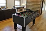 Foosball Table in Living Room