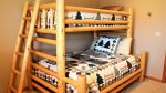 Bedroom with Twin over Full Bunk Bed