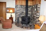 Cozy and Romantic Wood Stove