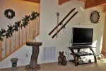 Wood Beam Ceilings and Upscale Mountain Decor