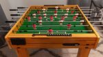 Foosball Table in the Bunk Room