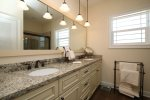 Master Bathroom with a Double Sink Vanity