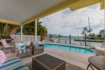 Lounging Areas, Pool, Jetted Tub and stunning views just outside the Living Area