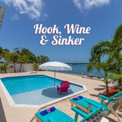 Hook, Wine & Sinker Waterfront Single Family Pool Home