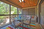 Screened-In Patio With Nature Views