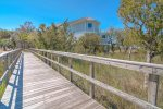 Private Nature Boardwalk Leading to Beach