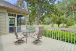 Deck with Golf Course Views and Plenty of Seating