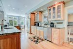 Fully-Equipped Kitchen with Stainless Appliances
