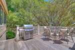 Back Deck - Grill and Table and Chairs