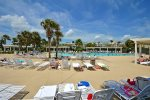 Beach Club - Two Outdoor Pools and Oceanfront Views and Chairs